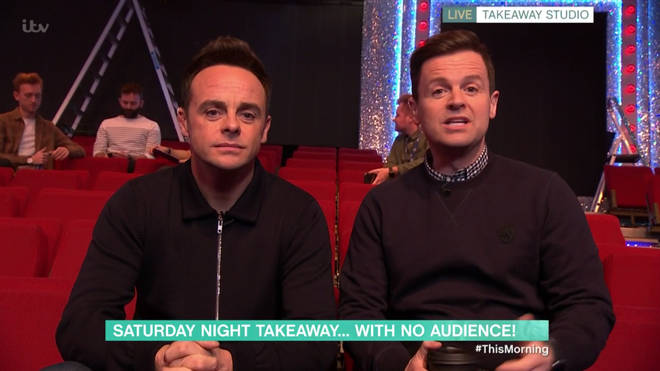 Ant and Dec appeared on This Morning earlier today