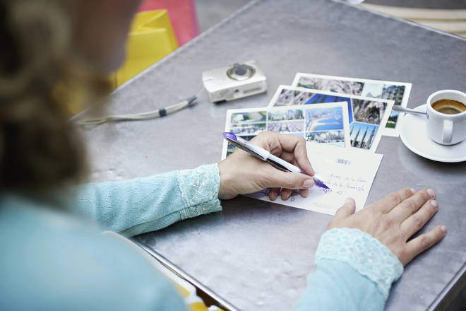 Taking a few moments to write a friendly postcard can have a hugely positive impact