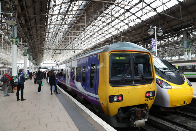 Trains will be running with reduced services next week