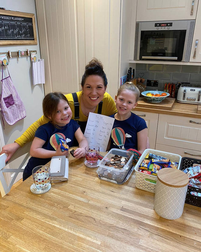 One mum – Laura Symonds – has come to the rescue with a genius hack to give her children limits  on their snacks
