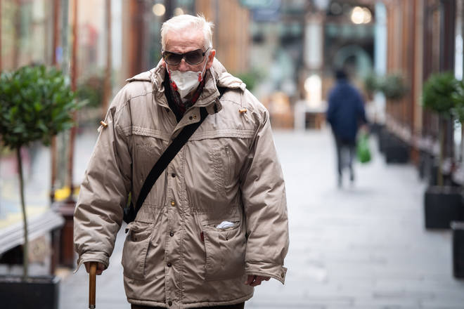 Older people are more at risk from coronavirus