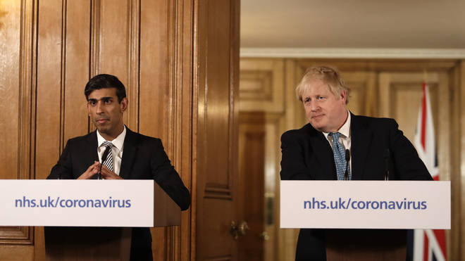 Chancellor Rishi Sunak and Boris Johnson are hosting daily press conference