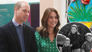 Kate and William shared some unseen photos