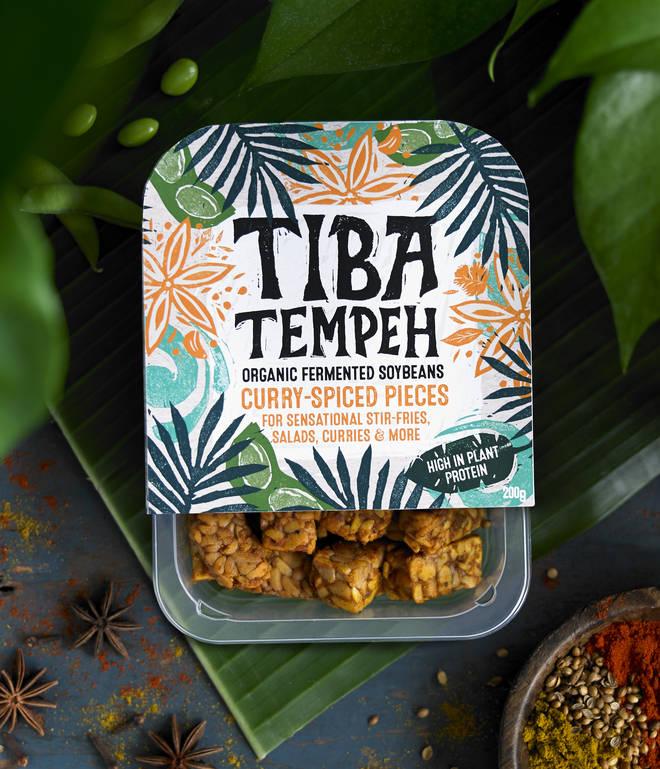 Tiba Tempah snacks