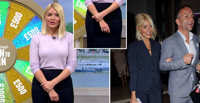 Holly Willoughby is not wearing her wedding ring