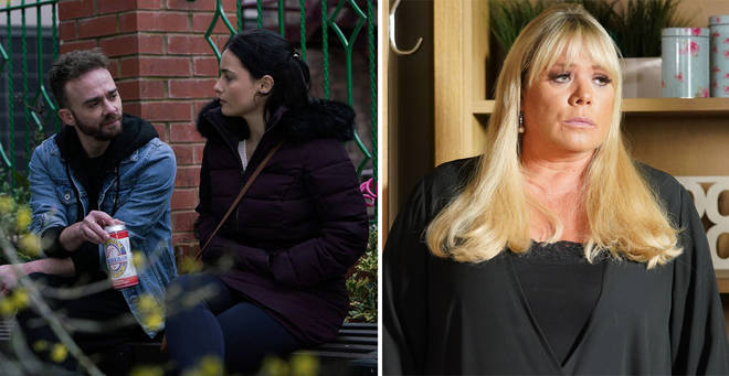 How far in advance are Coronation Street and EastEnders filmed?