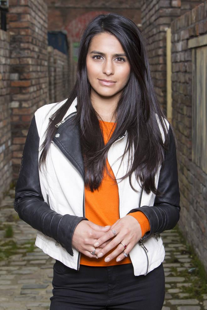 Alya Nazir on Coronation Street