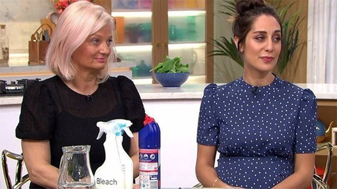 Alice Beer revealed her cleaning tips on This Morning