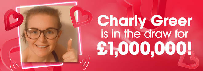 Charly Greer is the 13th person in the draw!