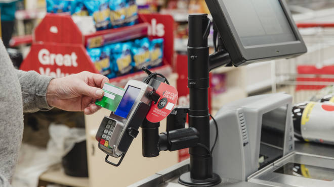 Contactless will be able to be used in essential shops unaffected by the lockdown