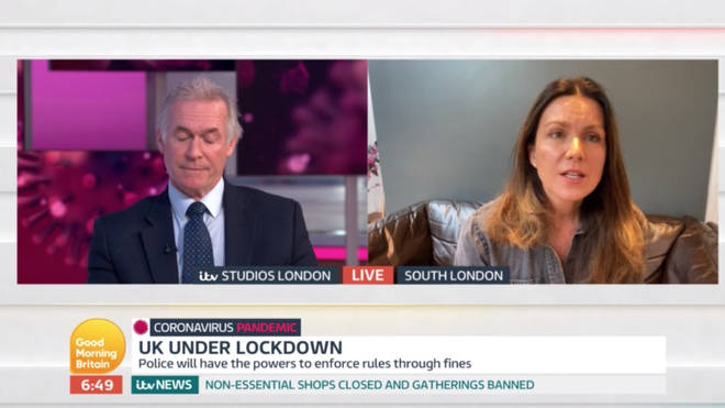 Susanna Reid thought there were exceptions to families who are separated