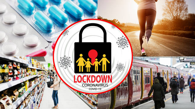 What does it mean to be on lockdown and when can you leave the house?