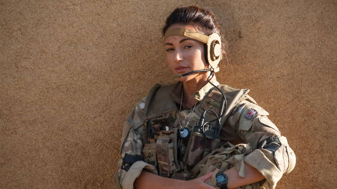 Michelle Keegan on Our Girl
