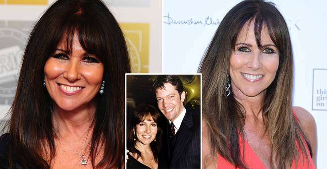 Linda Lusardi is in hospital battling coronavirus