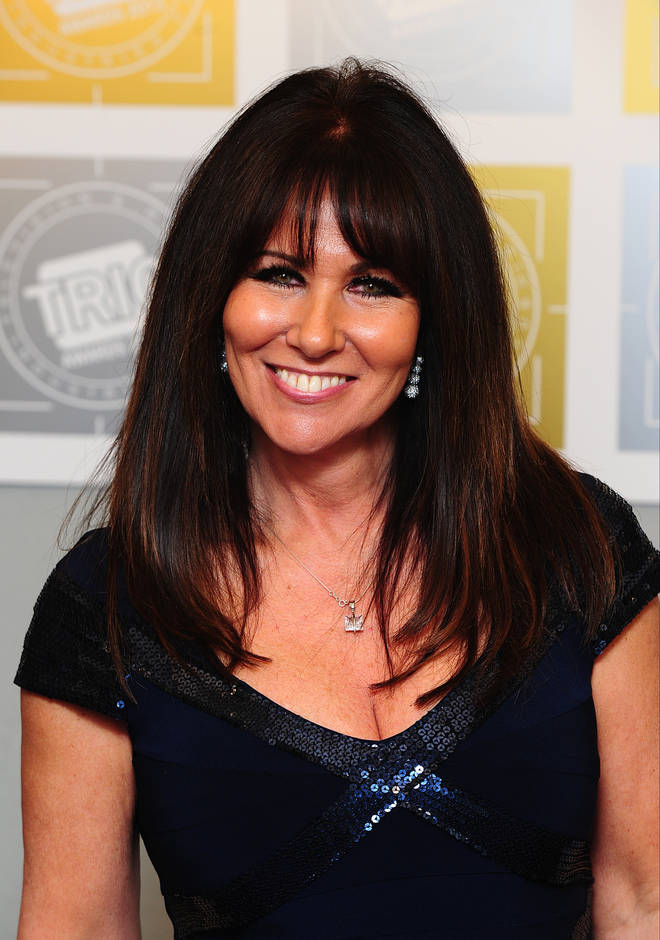 Linda Lusardi is still very unwell in hospital