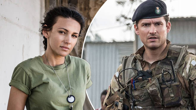 Where is Captain James on Our Girl?