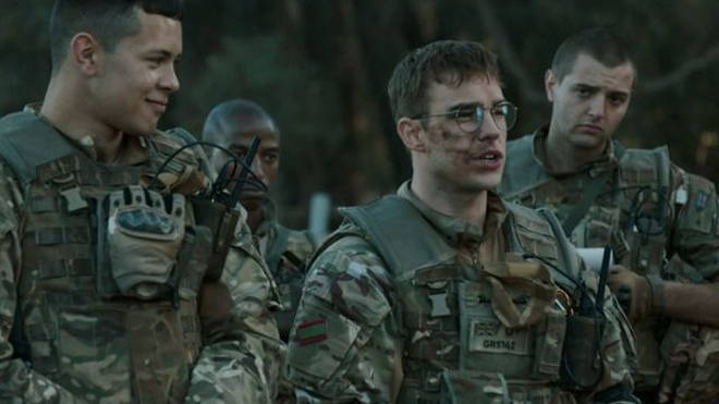 Nico Mirallegro as Prof in Our Girl