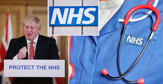 Boris Johnson has issued as special thanks to NHS volunteers