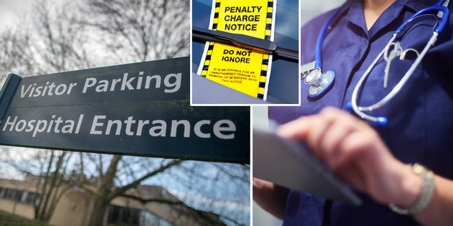 Parking fees have been scrapped for NHS workers