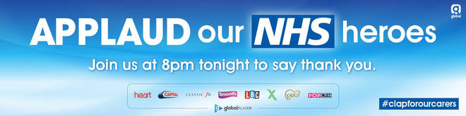 Join Heart in thanking our NHS heroes tonight at 8pm