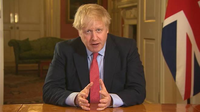 Boris Johnson announced a three-week period of lockdown measures earlier this week