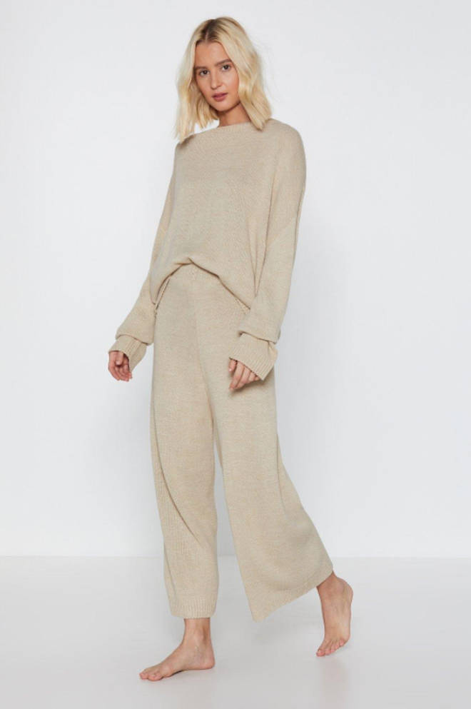 You've Met Your Match Knitted Lounge Set