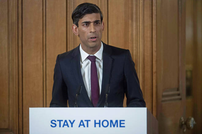 Rishi Sunak announced the new measures in a press conference today