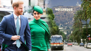 Prince Harry and Meghan Markle have reportedly fled to LA