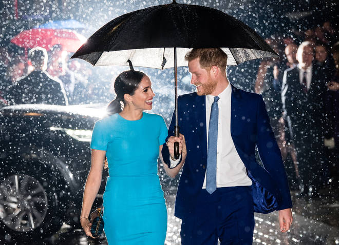 The Duke and Duchess of Sussex carried out their final engagements as senior royals earlier this year before flying back to Canada