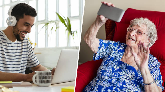 You can now volunteer to keep an elderly person company via video chat amid the coronavirus pandemic