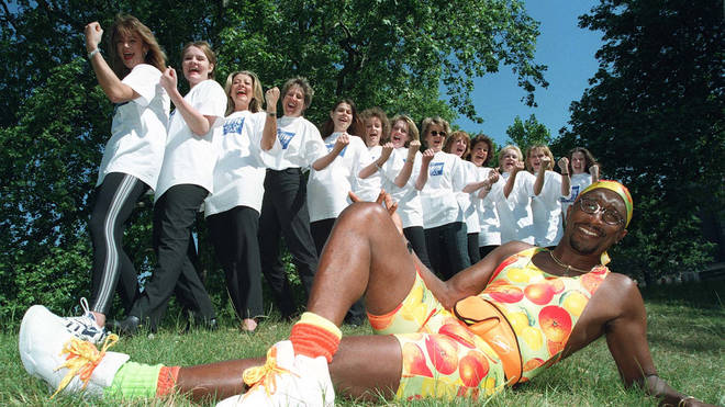 Mr Motivator shot to fame in the 90s with his workout videos