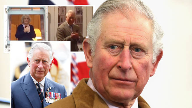 Prince Charles took the time to applaud the NHS
