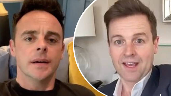 Ant and Dec reveal they will present Saturday Night Takeaway from their homes tonight.