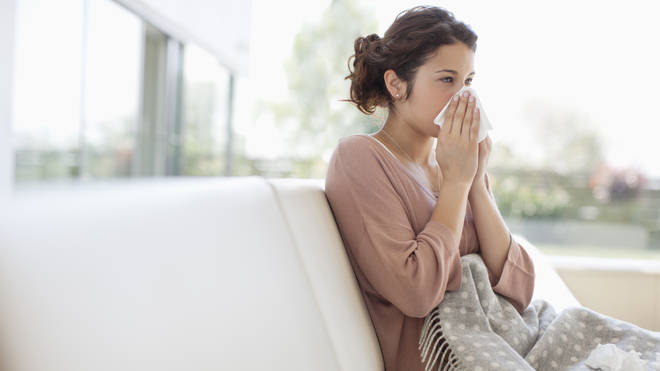 As we reach hay fever season, many have been struggling to differentiate their symptoms (stock image)