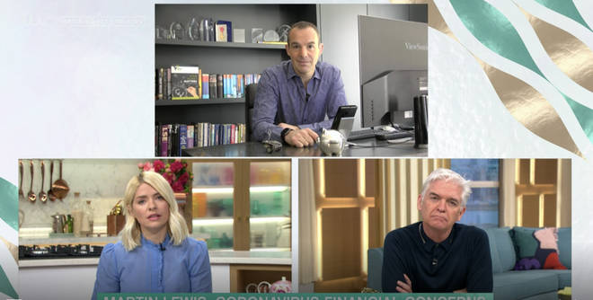 Holly Willoughby and Phillip Schofield spoke to Martin Lewis