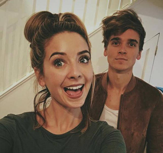 Joe's sister is YouTuber Zoe Sugg