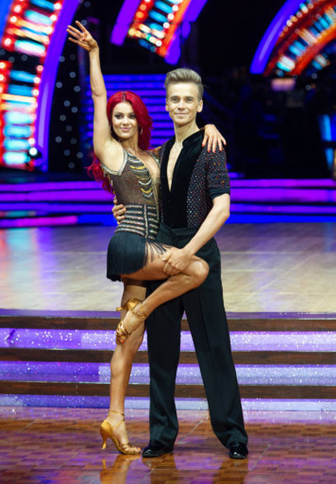Joe came second in the 2018 series of Strictly Come Dancing