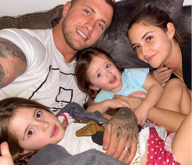 Dan Osborne is isolating with his family