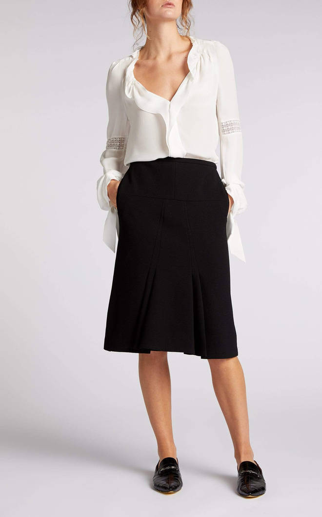 This is a similar skirt to Holly Willoughby's from Roland Mouret