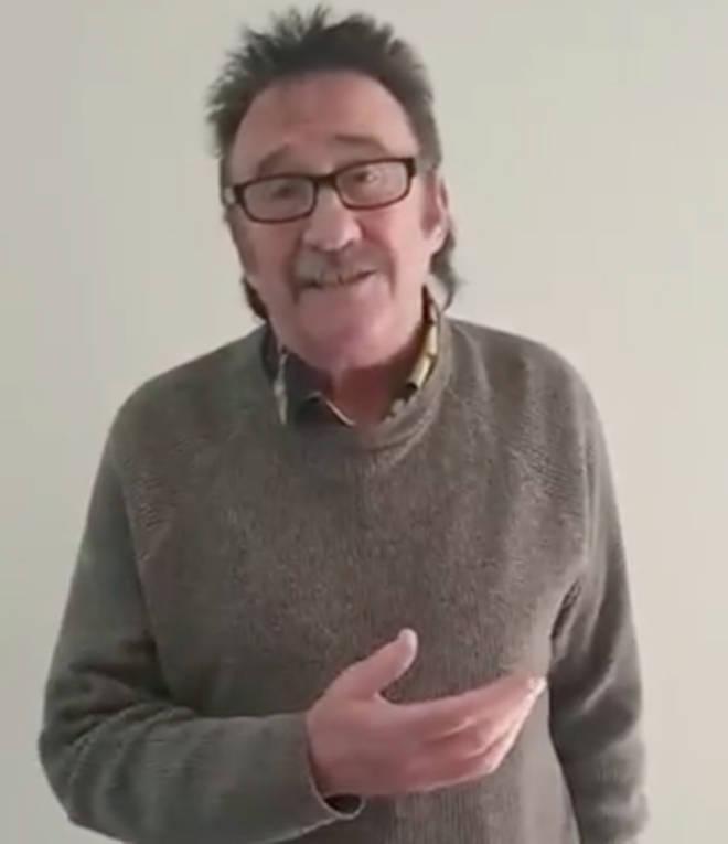 Paul Chuckle has coronavirus