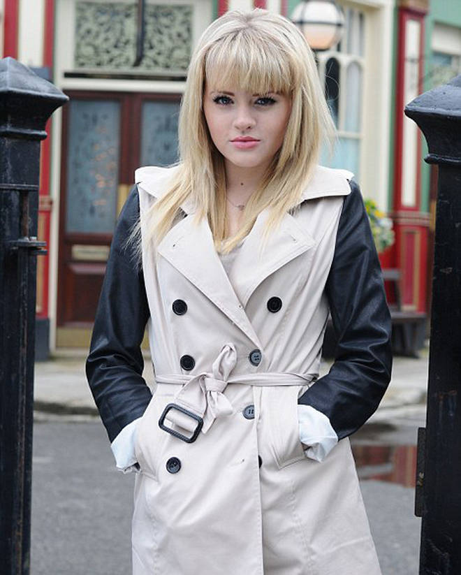 Hetti Bywater played Lucy Beale on EastEnders