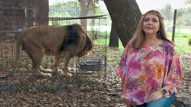 Carole Baskin is an animal rights activist who Joe Exotic allegedly plotted to kill