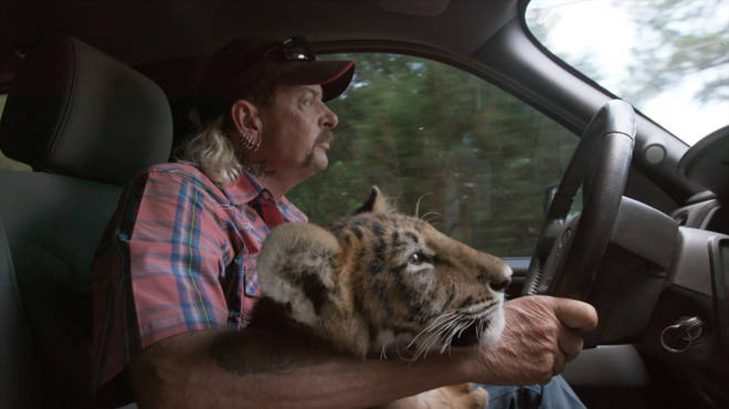 Tiger King is available to stream on Netflix now