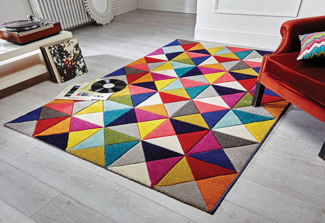 The style shown here is the 'Samba' rug