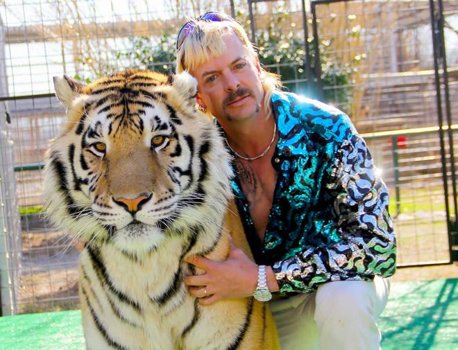 Tiger King tells the story of Joe Exotic