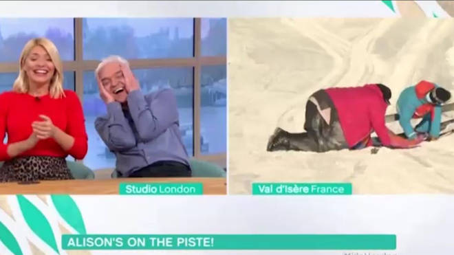 Alison Hammond fell over live on This Morning