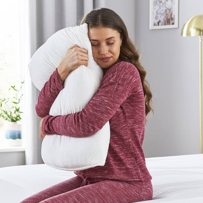 This pillow might be the snuggle session you need to survive quarantine