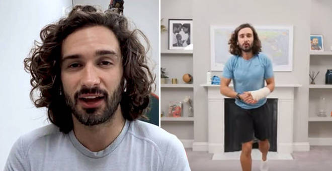 Joe Wicks has raised a staggering $100,000 for the NHS