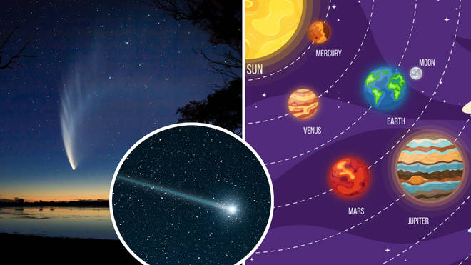 Comet FIVE times the size of Jupiter is set to light up