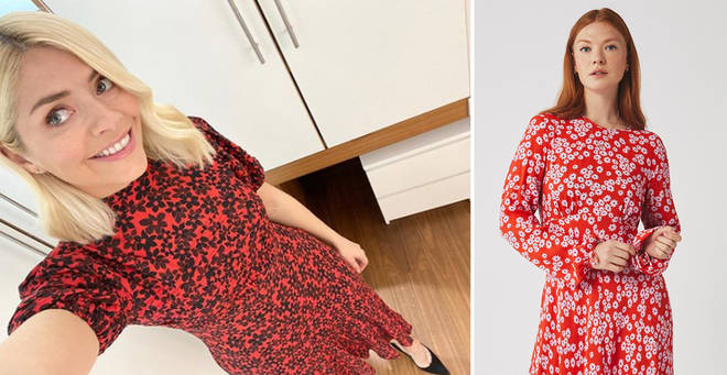 Holly Willoughby's red dress
